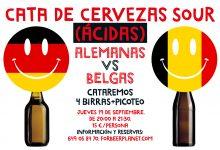 Cata de Cervezas Sour: Alemanas vs. Belgas