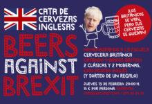 Cata de Cervezas Inglesas 'Beers Against Brexit'